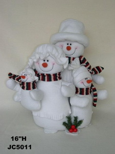 Christmas Snowman Family (JC5011)