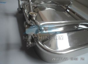 Sanitary Stainless Steel 304 316manhole Normal Pressure Manhole Cover (ACE-RK-2D) pictures & photos
