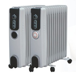 2016 Portable Oil Filled Radiator Heater pictures & photos