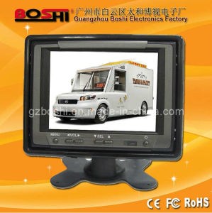 CE, RoHS, FCC Approved 5 Inch Car CCTV Monitor for Vehicle Reverse Safety (SF-511S)