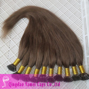High Quality I Tip Prebonded Human Hair Extensions (YM-W-039)