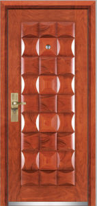 Steel Wooden Armored Door (YF-G9022) pictures & photos