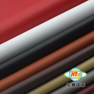 Imitation PVC Vinyl Faux Leather for Car Seats Auto Covers pictures & photos