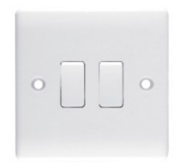 Wall Switch, Electrical Switch, 2gang1way Switch pictures & photos