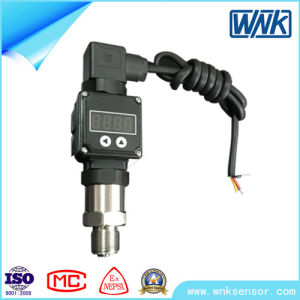 Mini Sanitary Stainless Steel Pressure Transmitter with Sealed Diaphragm pictures & photos