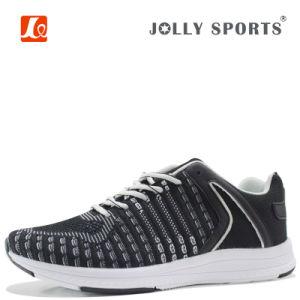 Men Women Flyknit Sneaker Footwear Sports Running Shoes pictures & photos