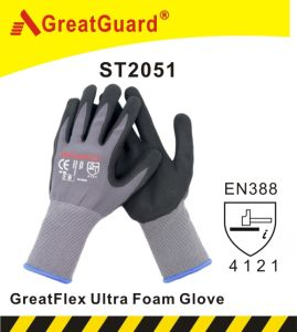 Dotted Maxiflex Glove (ST2052) pictures & photos
