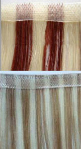 Human Remy Hair Skin Weft