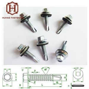 Screw/Roofing Screw with EPDM Washer (4.8x25mm) pictures & photos