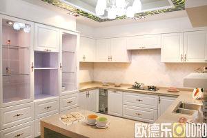 Melamine Kitchen Cabinet (ODR-K004)