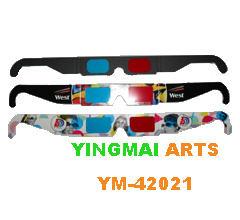 Promotion Paper 3D Glasses (YM-42021)