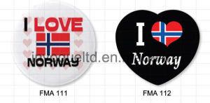Customized Tin Plate Magnet for Souvenir (FMA111 & FMA112) pictures & photos