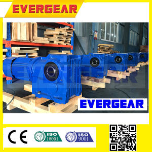 S Series Superior Quality Helical Worm Geared Motor pictures & photos