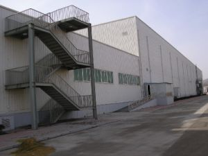 Steel Stair for High Building (SSW-496) pictures & photos
