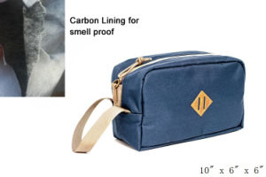 Odor Smell Proof Toiletry with Carbon Lining pictures & photos