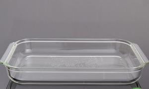 1.8L High Borosilicate Pyrex Glass Baking Dish pictures & photos