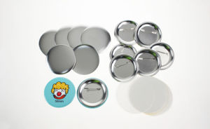 58mm Pin Button pictures & photos