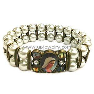 Glass Pearl Bracelet (URB5-019)