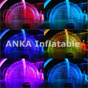Inflatable Shell Shape Wedding Tent with LED Lighting pictures & photos