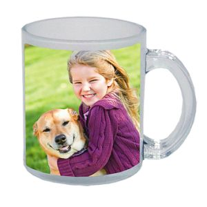 Sublimation Glass Mug, 11oz Sublimation Glass Mug pictures & photos