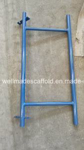 Snap-on Frame Scaffolding Double End Rail pictures & photos
