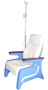 Hospital Electric Blood Donation Chair Injection Dialysis Seating Patient Infusion Seat (P05) pictures & photos