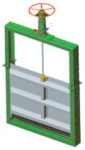 Light-Type Sliuce Gate