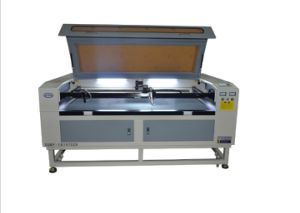 CO2 Laser Cutting Machine with Camera for Cutting Trademarks pictures & photos
