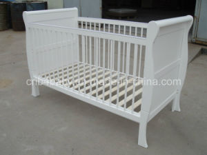 UK Baby Sleigh Cot Bed