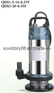 QDX Vertical Submersible Pump (QDX1.5-16-0.37) pictures & photos