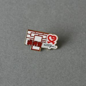 Irregular Soft Enamel Pin, Window Shape Badge (GZHY-SE-009) pictures & photos