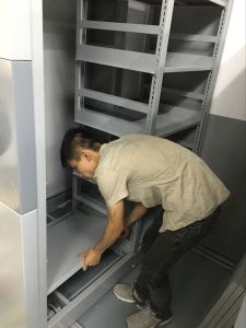 Mobile Compactor File Storage System pictures & photos