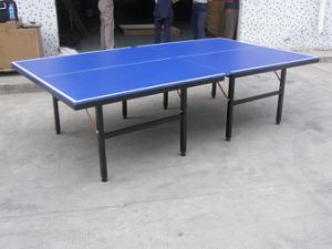 Foldable Table Tennis Table (TE-09) pictures & photos