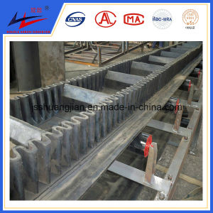 DJ Belt Conveyor with Big Angle for Bulk Material Handling pictures & photos
