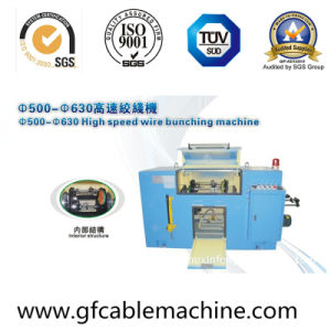 High Speed Auto Copper Wire Bunching Metal Twisting Machine pictures & photos