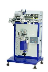 Pneumatic Cylindrical Surface Screen Printer