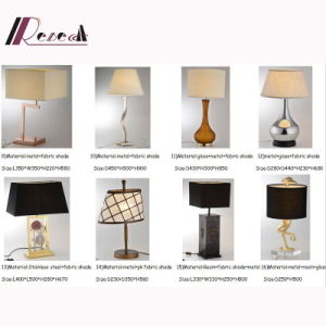 Decorative Metal Reading /Book Light, Hotel LED Lighting Fabric Bedside Table Lamp pictures & photos