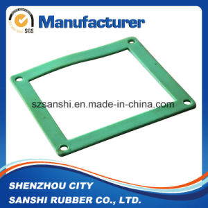 OEM Custom Square Silicone Rubber Cushion pictures & photos