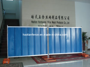 Steel Hoarding Fence pictures & photos
