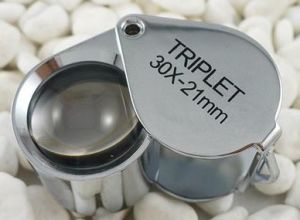 SC3021 30X 21mm Jewelers Loupe with Golden Color or Silver Color pictures & photos