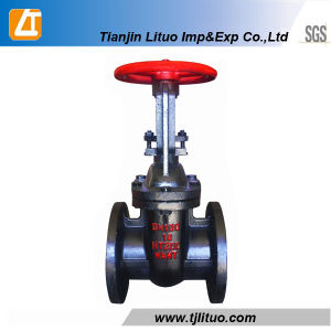 Hot Sale Cast Iron Russian GOST Standard Gate Valve pictures & photos