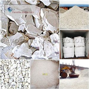 Calcined Flint Clay / Calcined Chamotte