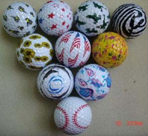 2-Piece Golf Ball for Promotion Level (B07115) pictures & photos