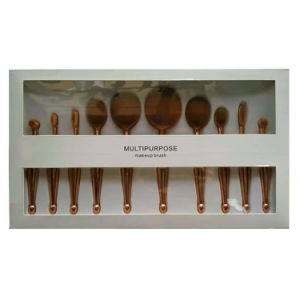 10PCS Oval Rose Golden Toothbrush Mermaid Cosmetic Tools pictures & photos