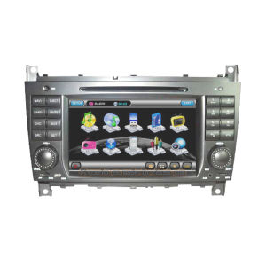 W203 /Clc/Clk W209 2 DIN Car DVD Player with TV/GPS Navigation (FLY-BZ-C)