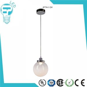 Et74-1 Glass with Chrome Finish LED Pendant Lamp Ceiling Lighting pictures & photos
