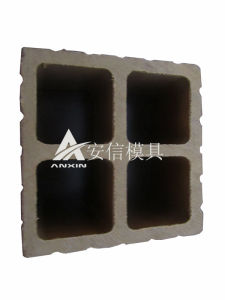 PE Pillar Plastic Extrusion Mould (ANXIN_001)