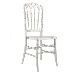 High Back Silver Napoleon Chair for Wedding and Event pictures & photos
