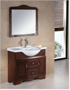 Bathroom Shower Cabinet with Solid Wood pictures & photos