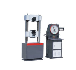 WE-1000 Hydraulic Universal Testing Machine UTM pictures & photos